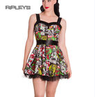 HELL BUNNY Club MINI DRESS Goth B-MOVIE Zombie