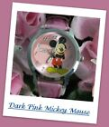 "#446 Classic Mickey Mouse & Minnie Mouse Wristwatches ""Pick Your Favorite Style"""