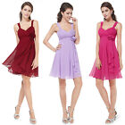 Ever Pretty Chiffon Womens Wedding Bridesmaid Mini Dresses Cocktail Gown 03266