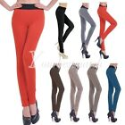 7 Candy Color Sexy Women's Cotton Leggings Elastic Pants Stretchy Tights S/M/L