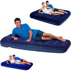 KING SIZE DOUBLE OR SINGLE AIRBED AIR BED MATTRESS & OPTIONAL BUILT IN FOOT PUMP