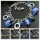 SB213DEF Colored Glaze Cube Amazing Fashionable Tibetan Bracelet Bangle
