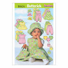 Butterick 5624  Sewing Pattern to MAKE a Selection of Baby Clothing, Hat & Bag