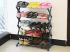 New 3 Tiers 5 Tiers Space Save Combination Shoe Rack Shoes Organizer Shelf