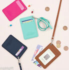 Ardium ID Strap Card Case Pocket Single Holder Business Traffic Korean Fashion