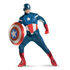 CAPTAIN AMERICA Avengers Theatrical Quality Adult Costume Disguise 43696