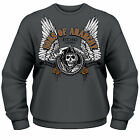 SONS OF ANARCHY Winged Reaper CREW NECK SWEATER SWEATSHIRT PULLOVER NEU