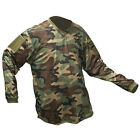 Valken V-Tac Echo Paintball Jersey - Woodland Camo - XS-3X available