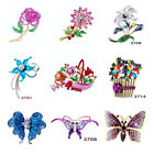 Party Jewellery Brooch Pins Animals 9 Styles Option Beautiful Christmas Gifts