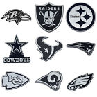 NFL All Teams Premium Chrome Plated Solid Metal Car Auto Emblems Official Logo $11.95 USD on eBay