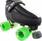Ladies Quad Speed Roller Derby Skates - Vertigo F1 Q6 Eagle Atom Poison