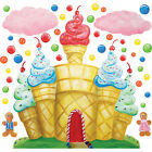 Cotton Candy Land By Mary Veiga Peel  and  Stick Wall Decals