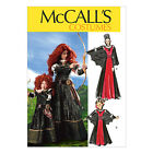McCall's 6817 Sewing Pattern Costumes - Brave Merida Gown & Cape Adult or Child