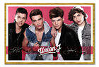 Framed Union J Band Poster Ready To Hang - Choice Of Frame Colours