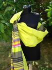 New handmade Baby Sling Carrier Reversible,  with ring, NEWBORN to TODDLER , COLOR
