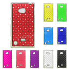 New Crystal Diamond Gem Star Bling Hard Back Case Cover Skin Fit Nokia Lumia 720