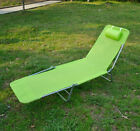 Outdoor Folding Reclining Beach Sun Patio Chaise Lounge Chair Pool Lawn Lounger cheap