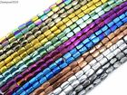 Kyпить 100Pcs Natural Magnetic Hematite Gemstone Faceted Tube Beads 5x8mm Metallic  на еВаy.соm