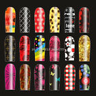 20pcs 3D DIY Nail Art Polish Foils Decal Stickers Nails Tips Wraps Decoration 01
