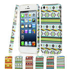 New Aztec Tribal Tribe Pattern Retro Vintage Hard Case Cover for iPhone 5 5G 5S