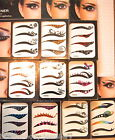 Fancy Temporary Eyeliner Eye Tattoo Transfer Sticker Fancy Dress Party - 4 pairs