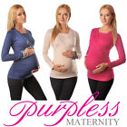 2in1 Maternity & Nursing Top Pregnancy Breastfeeding Size 8 10 12 14 16 18 7007