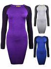 Womens Bodycon Mini Dress Sports Luxe Disco Top Grey Blue Ladies New Sz 8-14