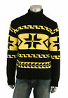 Ralph Lauren Polo Black Wool Cashmere Turtleneck Sweater New $695