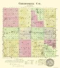 CHEROKEE COUNTY KANSAS (KS) BY L.H. EVERTS & CO. 1887