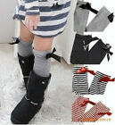 Baby Leggings Leg Arm Warmers Bowknot cotton socks 2-8 years age children 4color
