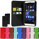 Wallet Leather Case Cover For Blackberry Z10 BB10 + Screen Protector & Stylus