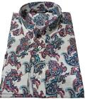 MENS RELCO PAISLEY CLASSIC MOD SHIRT BUTTON DOWN COLLAR INDIE SIZE S--XXL