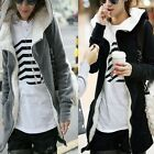 Korea Winter Women Thicken Cotton Hoody Coat Hoodie Sweatshirt Outwear Jacket