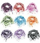 13 colors couple models Flax plaid scarf Houndstooth stylish fringed scarf New