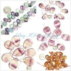 Jewelry Making Natural drop gemstone fluorite beads from seed-beauty