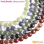 """20mm Coin Natural Stone Jewelry Making Beads Strand 15"""" Beauty Beads in Lots"""