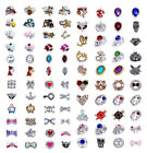 10pc 3D Nail Art Alloy Decoration Bling Rhinestone Charm Glitter Tips DIY #B