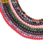 """2/3/4mm Tiny Spacer Seed Stone Beads 15"""" Wholesale Jewelry Making Gemstone Beads"""