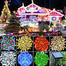 7colors 60/100/200 LED Solar Fairy string Lights Garden Christmas Party Outdoor