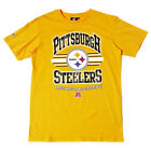 MAJESTIC ATHLETIC STOAKES TEE NFL PITTSBURGH STEELERS YELLOW
