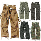 SURPLUS Pantaloni CARGO JEANS VINTAGE FATIGUES casual Stone Washed