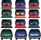 Choose Your NCAA Team Cargo Carrier Tailgate Hitch Seat Cover - COVERS ONLY