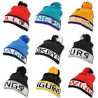 Mitchell & Ness Beanie Bulls Nets Hornets Lakers Magic Spurs Kings Penguins Red