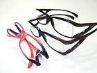 5pr $20 Rockin' Unisex Reading Glasses Pink/Purple Black Brown Light Weight