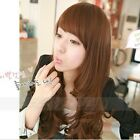 Costumes Chic Womens New Lady Wigs Long Curly Wavy Hair Wig Cosplay Party Dress