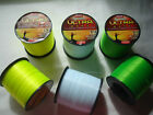 Asso Ultra Cast - High Visibility Sea Fishing Line - Fluorocarbon Coated