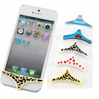 For iPhone 4 5 4S 5S SEXY Underwear Thong Silicone Home Button Case Cover JTV5