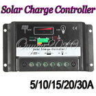 5-30A PWM Solar Panel Battery Regulator Charge Controller AutoSwitch 12-24V
