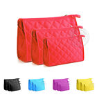 New Cosmetic Bag Makeup Case Travel Purse Pouch Handbag Women Storage 3 In 1