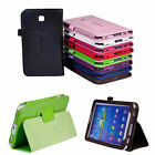Flip Faux Leather Stand Case Cover For Samsung Galaxy Tab3 7.0 7inch T210 P3200